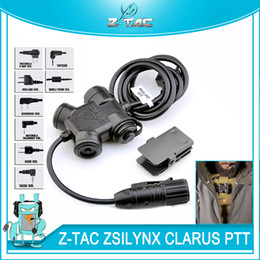 TacTical headseTs pTT online shopping - Tactical ZSILYNX CLARUS PTT Waterproof PTT For Comtac Headset fit Baofeng UV R UV R UV UV B6 TYT TH UVF9 Radio Kenwood Icom Midland
