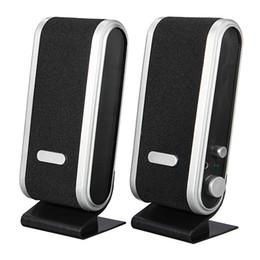 $enCountryForm.capitalKeyWord Canada - 1 Pair Computer Speaker Multimedia Portable Desktop Speaker USB 3.5mm Audio Built in Mic Jack Loudspeaker