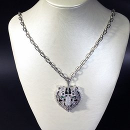 Cloisonne Plates Australia - 2019 Brand Designer Jewelry 18K Gold Plated Women Wedding Jewellery Set Fashion Leopard Pendant Necklace Gold Bracelet Rings