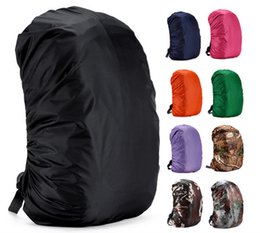 Fish protect online shopping - Adjustable Waterproof Dustproof Backpack Rainproof Backpack Cover Sun resistant Portable Ultralight Shoulder Protect Outdoor tools Hiking NY