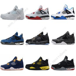$enCountryForm.capitalKeyWord Canada - 4 4s Men Basketball Shoes Game Royal Thinker Oreo Eminem White Cement Pure Money Toro Bravo Military Blue Green Glow Cavs Sports Sneakers