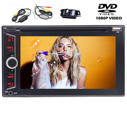 stereo dvd player Canada - 6.2'' Double 2Din Car Stereo In Dash Auto Radio Bluetooth car DVD Player Multi-Media USB SD AUX-IN Steering Wheel Control Subwoofer Output