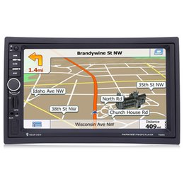 Gps Hd Australia - 7 Inch HD Touch Screen 2 Din Bluetooth Car Audio Stereo FM MP5 Player Support GPS Navigation Function Automobiles Vehicle GPS
