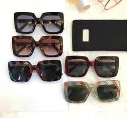 cat strips NZ - Free shipping-The new style of 0328 new style of sunglasses with large box of golden spring onion strips in size 53-26-140 is fashionable in
