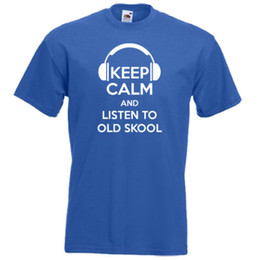 $enCountryForm.capitalKeyWord NZ - KEEP CALM and Listen To OLD SKOOL 80s 90s Music Disco DJ Funny Men Women T-shirt Funny Free