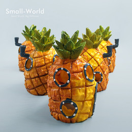$enCountryForm.capitalKeyWord NZ - Resin Craft Pineapple House Building Bonsai Figure Toys Home Fish Tank Aquarium Decoration Accessories Fairy Garden Ornaments