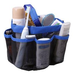 $enCountryForm.capitalKeyWord Canada - 8 Pocket Mesh Shower Caddy Tote Wash Bag Dorm Bathroom Caddy Organizer with 8 Basket Pockets Storage Package