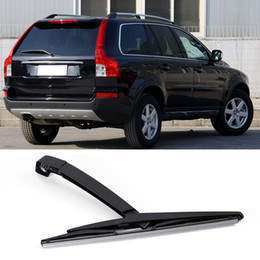 Auto cAr professionAl online shopping - Professional Car Auto Windscreen Rear Wiper Arm Blade Set For Volvo XC90 Car Replacement black