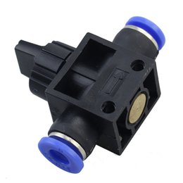 China Home Improvement Pneumatic Air 2 Way Quick Fittings Push Connector Tube Hose Plastic 4mm 6mm 8mm 10mm 12mm Pneumatic Parts supplier quick hose suppliers