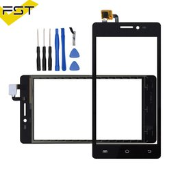 $enCountryForm.capitalKeyWord NZ - Black White For Prestigio Wize C3 PSP 3503 DUO PSP3503 Touch Screen Digitizer Touch Panel Lens Glass Tools With Tape