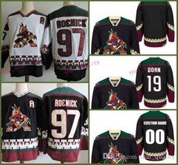 1998 CCM Vintage 19 SHANE DOAN Phoenix Coyotes New Hockey Jersey 97 JEREMY  ROENICK Stitched black jerseys Cheap Mens 5526065bb