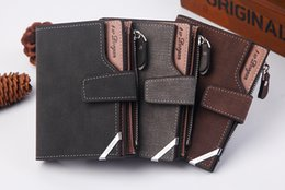 Wholesale Promotion Casual Wallets For Men New Design Top Purse Mens Card Holder Wallet With Coin Pocket