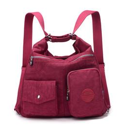 JINQIAOER New Waterproof Women Bag Double Shoulder Bag Designer Handbags  High Quality Nylon Female Handbag bolsas sac a main a2fad2edf2c38