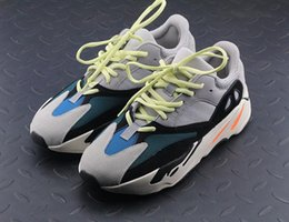 Women shoes summer boots online shopping - 700 Runner New Kanye West Wave Runner Boots Mens Women Boosty Athletic Sport Shoes Running Sneakers Shoes Eur with Box