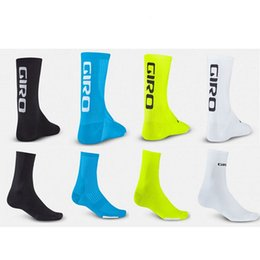 Discount professional soccer socks - Professional Brand Cycling Socks Wear Resisting Sport Sock Perspiration Soft Stockings With Multi Color For Men Women 11