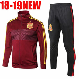 Germany tracksuit online shopping - 2018 World Cup Argentina Belgium Russia Colombia Mexico France Germany Spain Portugal Soccer Tracksuit Football Jacket Training Suit Custom