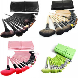 Hair cases online shopping - Professional Makeup Brush Set Tools Make up Toiletry Kit Wool Brand Make Up Brush Set Case Cosmetic Brush