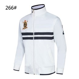 $enCountryForm.capitalKeyWord Canada - NEW JACKET Men Sportswear Black White Blue Autumn Winter Jogger Sporting Suit Mens JACKET
