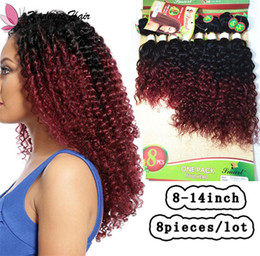 $enCountryForm.capitalKeyWord Australia - Brazilian Virgin Human Hair Ombre Color Afro Kinky Jerry Curly Loose Wave Deep Curl 8bundles per pack for full head