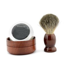 Wholesale Fashion Men s Shaving Kit Shaving Brush With Shaving Bowl Men s Styling Set