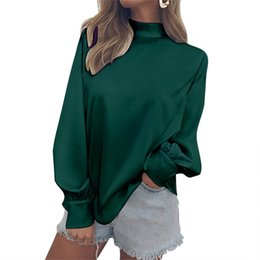 5a89d6887e8cd7 Autumn 2018 Long Sleeve Chiffon Blouse Womens Tops and Blouses Ladies Tops  Women silk Shirts Office White Blusa Feminina