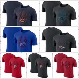 Baltimore Ravens Chicago Bears Atlanta Falcons Arizona Cardials Carolina  Panthers Fan Gear Icon Performance T-Shirt db1724467