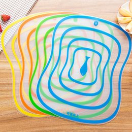Plastic Chopping Board Non-slip Frosted Kitchen Cutting Board Vegetable Meat Tools Kitchen Accessories Chopping Board 30cm x 40cm on Sale