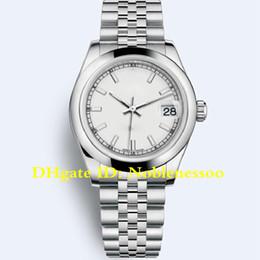 c60dddb4 20 цвет роскошный Леди часы белый циферблат среднего размера 178240 31мм  278278 279160 279173 178274 Азии 2813 автоматические движения часы женские  часы