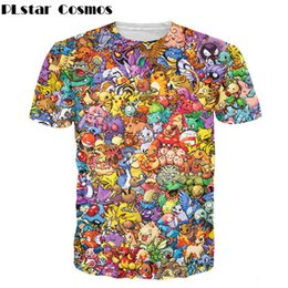 Chinese  PLstar Cosmos Women Men funny tops Original 150 T-Shirt 90s video game anime 3d print t shirt Characters cartoon tees manufacturers