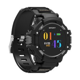 waterproof bluetooth smart watch wristwatch NZ - F7 Sports GPS Smart Watch IP67 Waterproof OLED Color Display Smartband Heart Rate Monitor Bluetooth Smart Band Pedometer Wristwatch