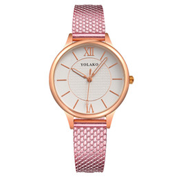 imitations watches UK - Wave wave student creative watch fashion watch female imitation net belt belt table Wristwatches