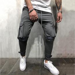Men Wearing Leggings Australia - Sport wear Joggers Sweatpants Running Training Sport Pants Men Gym Leggings Autumn Fitness Clothing High Waist Mens Track Pants