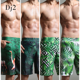Wholesale digital printed swimwear for sale – plus size 2017 Swimwear Men Brand High End Digital Print Beach Wear Men Long Trunks Swim Briefs Surf Beach Wear Swimming Pool Shorts Male