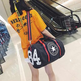 0b5a0f4574 Mens canvas tote bags online shopping - Canvas luggage taekwondo duffle  travel bags Korean Texture surface