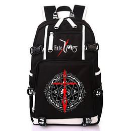 fc670fc7df Women Men Anime Fate Stay Night Realta Nua Backpack Rucksack Schoolbag Bag  For School Boys Girls Student Travel