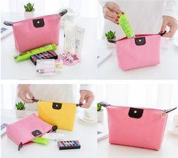 $enCountryForm.capitalKeyWord Australia - Custom Logo Candy Color Travel Makeup Bags Women's Lady Cosmetic Bag Pouch Clutch Handbag Hanging Jewelry Casual Purse