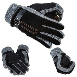 $enCountryForm.capitalKeyWord NZ - 1 PAIR MENS LEATHER GLOVES THINSULATE SOFT FEEL FULLY LINED WINTER WARM OUTDOOR WALKING MITTENS