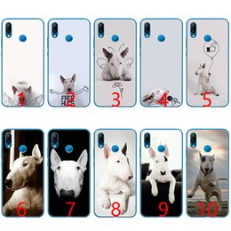 fit bull 2019 - Bull Terrier bullterrier dog Soft Silicone TPU Phone Case for Huawei Honor 7A Pro 6A 7X 8 Lite 9 Lite 10 Cover discount