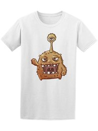 40e599931 Good Monster Cartoon Men's Tee -Image by Shutterstock New Funny Brand  Clothing top tee T shirt Short Sleeve Tops