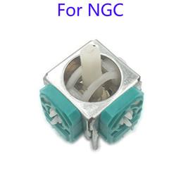 Wholesale 3D Analog Stick Sensor Module Joystick Thumb Stick Handle for Game Cube NGC Repair Parts High Quality FAST SHIP