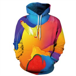 c6d5bb34f28 Youthcare Hoodie for Men and Women 3D printed Colorful Pattern men Hoodie  Oversize mens Pullover Long sleeve womens Sweater