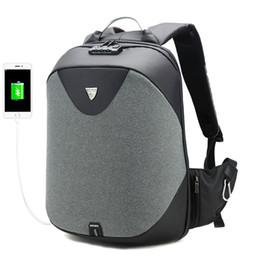 c7befc7d649c Школа рюкзаки 15.6 ноутбук рюкзак мужчины водонепроницаемый Mochila  случайные путешествия USB зарядка Back pack мужской мешок подарок