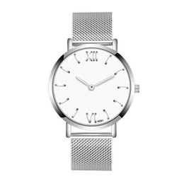 thin wrist watches 2019 - Mens Watches Top Brand Luxury Fashion Man Crystal Stainless Steel Watch Analog Quartz Wrist Watch Mens ultra thin montre