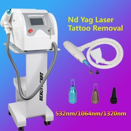 Laser Tattoo Removal Ce NZ - q switch nd yag laser machine tattoo removal Black Doll Treatment beauty salon equipment with CE approved