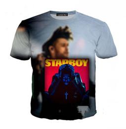 $enCountryForm.capitalKeyWord Canada - Tops Tees Singer Hip Hop T-shirt The Weeknd 3d Print Men Women Loose Casual Crew Neck T Shirt Clothing S-XXXXXXXL U774