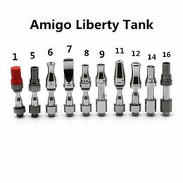 E cigarEttE v8 online shopping - Authentic Amigo Liberty V1 V5 V6 V7 V8 V9 V10 V11 V12 V14 V16 Tank Atomizer Vaporizer e cigarette Ceramic Coil DHL