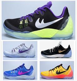 0776656daca 2017 Wholesale latest Kobe 5 Venomenon generation Basketball Shoes kb venom  5 v sports shoes Men 100% Original Authentic Sports Shoes