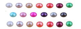 Loose Pearls Mix Australia - Loose pearls round 7-8MM 27color mixing beautiful jewelry necklace earring Natural DIY accessories sweet love wish gift for birthday party