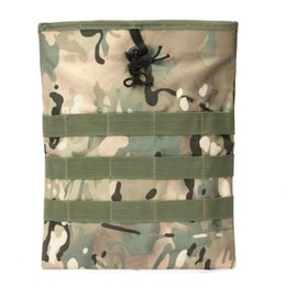 Chinese  Molle Protable Utility Drop Pouch Tactical Folding Dump Magazine Storage Bag Hanging Accessory Bag manufacturers