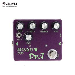 Echo Pedals Australia - Joyo Dr.J D-54 Shadow Echo Electric Guitar Effect Pedal Aluminum Alloy Housing True Bypass